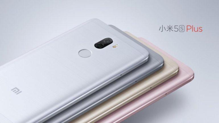 Xiaomi Mi 5S Plus кольори