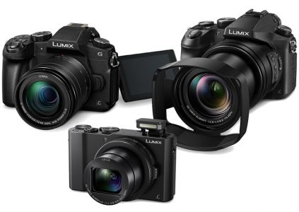 Panasonic представила три новые камеры серии Lumix: беззеркалку G85, компакт премиум-класса LX10 и суперзум FZ2500
