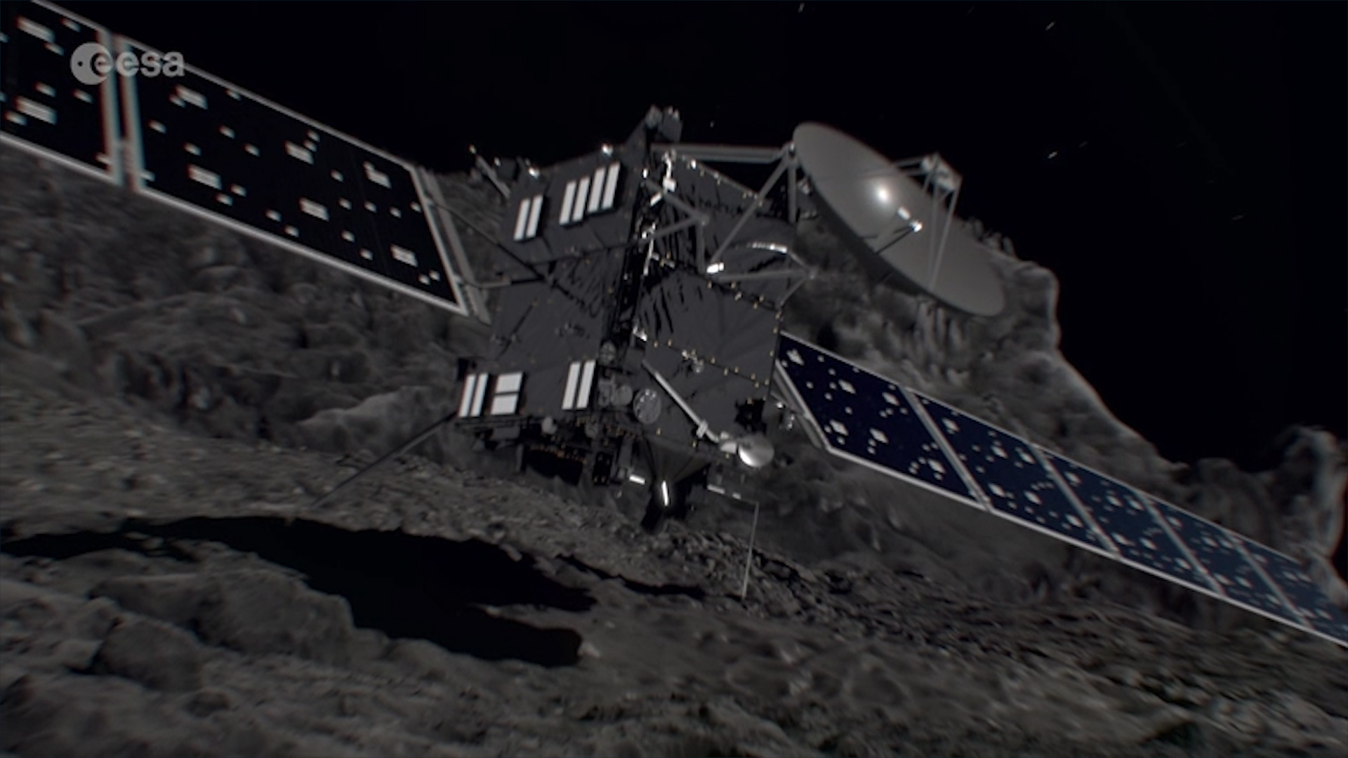 Космический аппарат «Розетта» врежется вкомету
