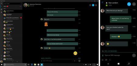 Новая версия Skype Preview позволяет использовать ПК с Windows 10 для отправки и получения сообщений SMS