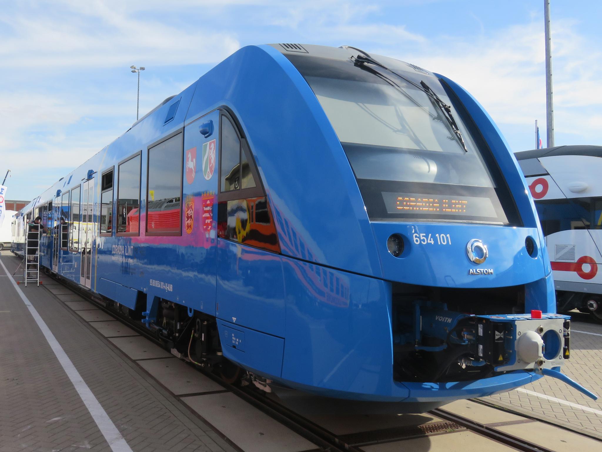 Поезд снулевыми выбросами запустят вГермании в 2017-ом