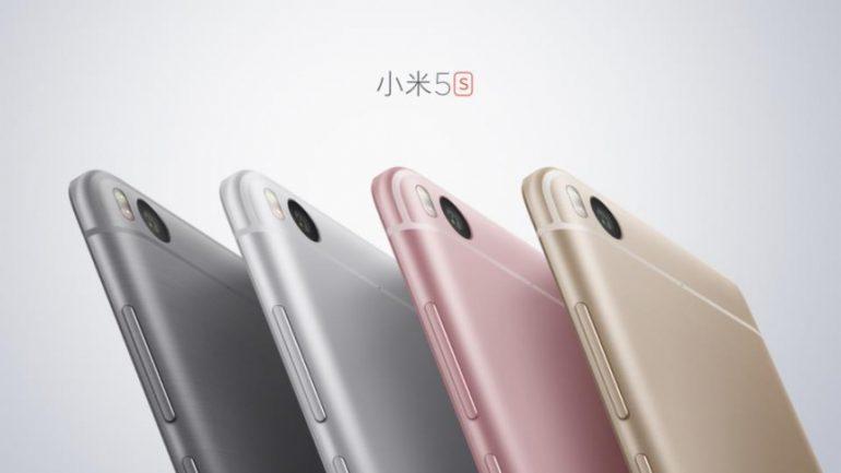 Xiaomi Mi 5S кольори
