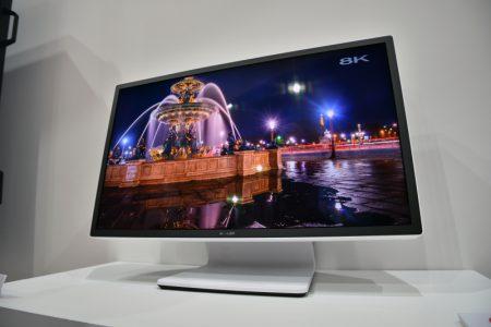 Sharp показала 27-дюймовый дисплей разрешением 8K с частотой обновления 120 Гц и поддержкой HDR
