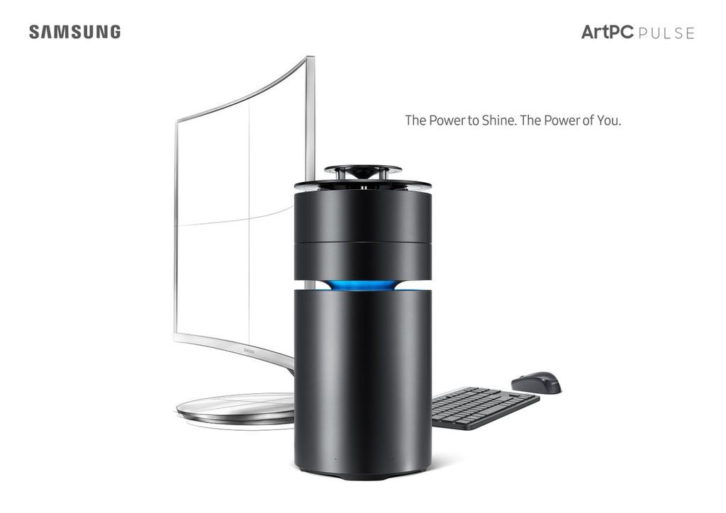 Самсунг выпустил настольный компьютер ArtPC Pulse