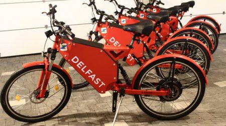 Украинская служба курьерской доставки DelFast начала продавать электробайки собственной конструкции по цене $2100