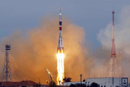 Космический корабль «Союз МС-02» с новым экипажем МКС успешно вышел на орбиту и взял курс на МКС