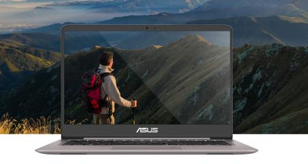 ASUS Zenbook UX410 — ультракомпактный ноутбук с «безрамочным» 14-дюймовым дисплеем Full HD, процессорами Intel Kaby Lake и видеокартой NVIDIA GeForce 940MX