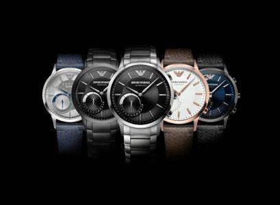Armani представила свои первые умные гибридные часы: полугодовая автономность и цена от $250