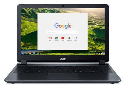 Acer представила обновленную версию 15,6-дюймового хромбука Chromebook 15 стоимостью $199