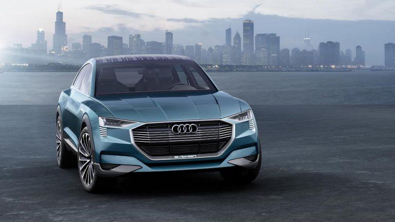 До 2020 года Audi выпустит три серийных электромобиля e-tron: среднеразмерный кроссовер, премиальный седан и компактный ситикар