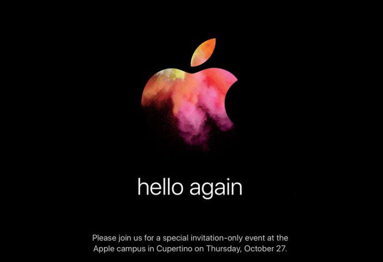 Помнению KGI, конференция Apple 27октября будет посвящена только ноутбукам