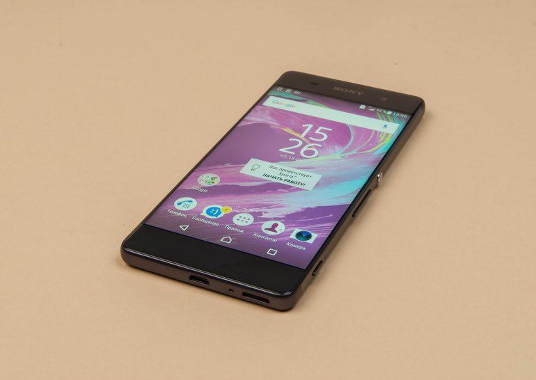 Обзор смартфона Sony Xperia XA Dual
