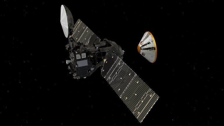 Обновлено: Посадка спускаемого модуля Schiaparelli миссии ExoMars на Красную планету