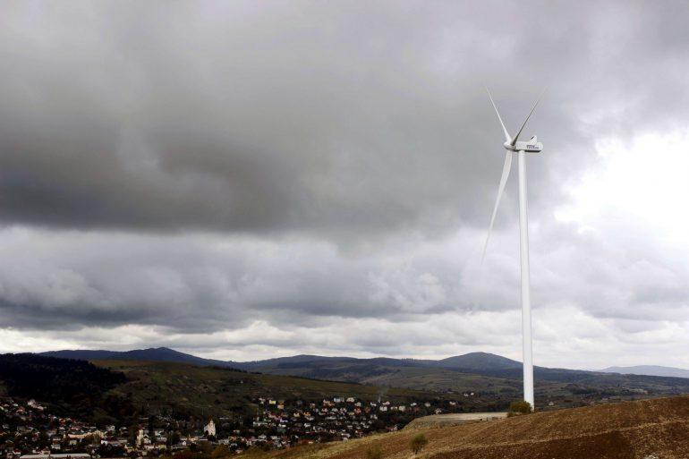 Во Львовской области запустили вторую очередь самой мощной в Карпатах ветроэлектростанции «Старый Самбор-1»