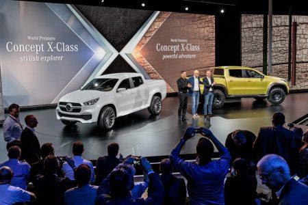 Mercedes-Benz представил свой первый пикап X-Class в «городской» и «брутальной» версиях
