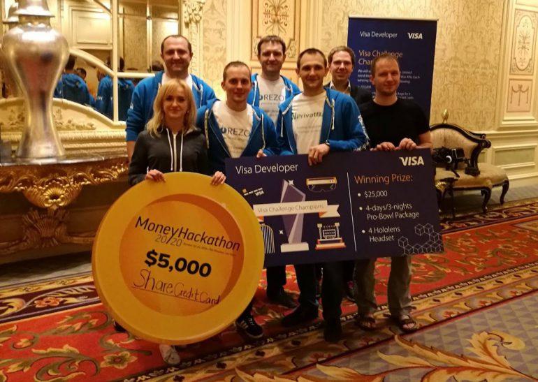 Украинская сборная разработчиков ПриватБанк Corezoid выиграла Visa Challenge Money 20/20 Hackathon в Лас-Вегасе