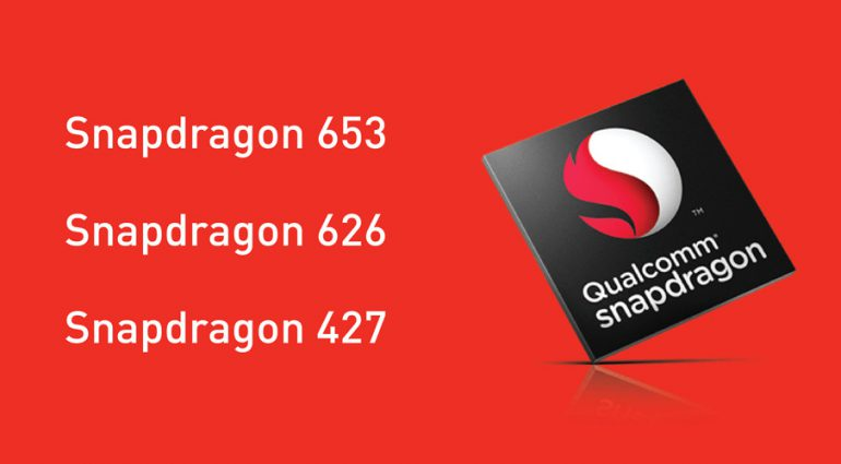 Qualcomm представила однокристальные платформы Snapdragon 653, 626 и 427