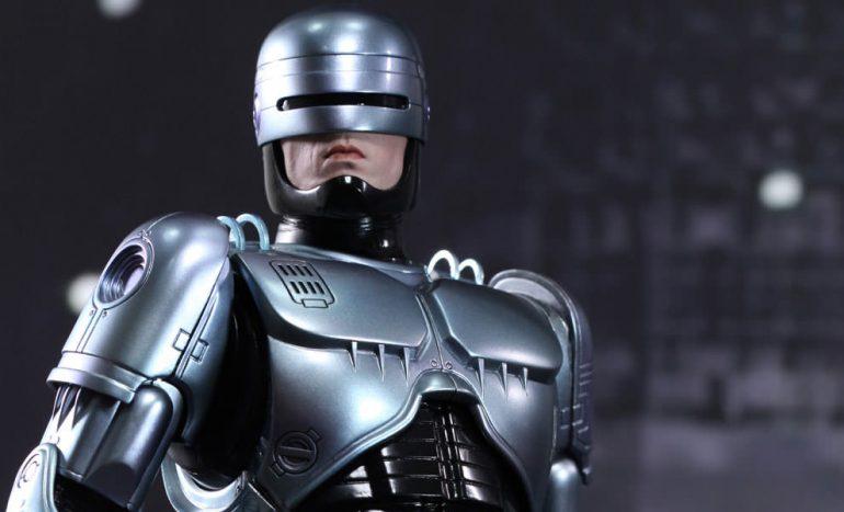 полицейский робот фото