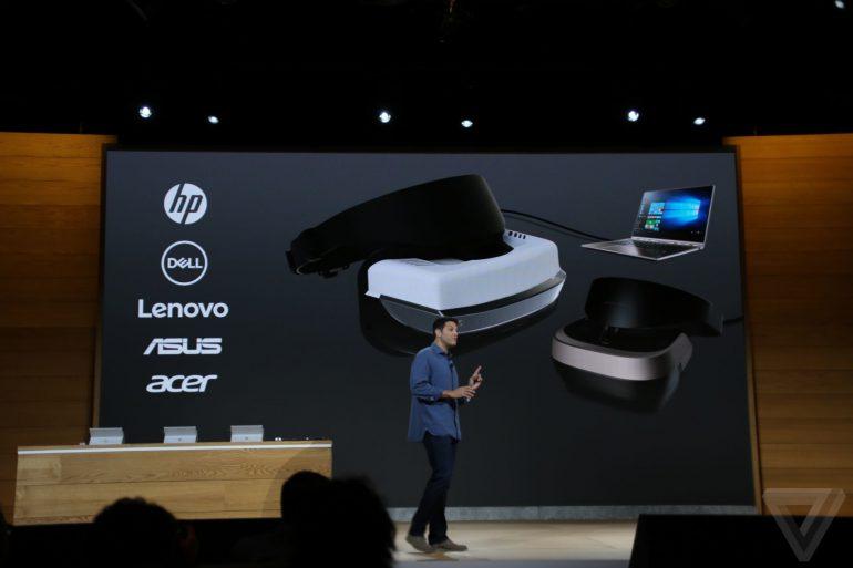 Microsoft анонсувала шолом віртуальної реальності для Windows 10 вартістю $ 299