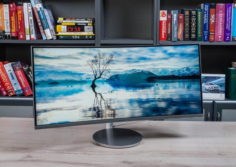 Обзор 34-дюймового монитора Samsung C34F791