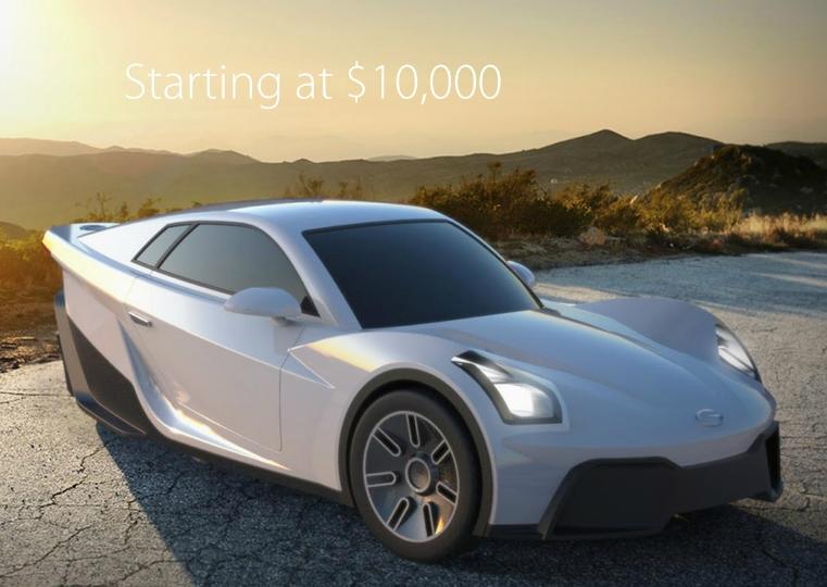 Американцы из Sondors и шведы из Uniti собирают средства на трехколесные электромобили