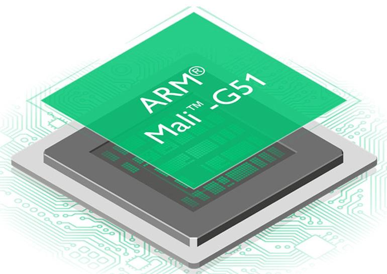 Видеоускоритель Mali-G51 GPU обеспечит 60% рост производительности вбюджетных телефонах