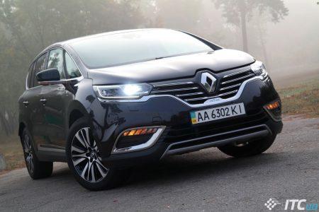 Оцениваем перспективы Renault Espace Initiale Paris