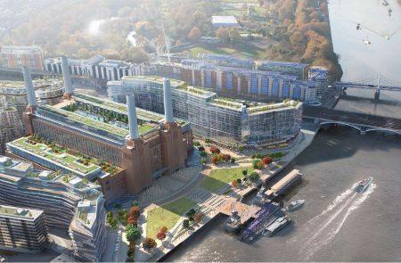 Галерея дня: новая лондонская штаб-квартира Apple как часть грандиозного плана реконструкции культовой электростанции с обложки альбома Pink Floyd