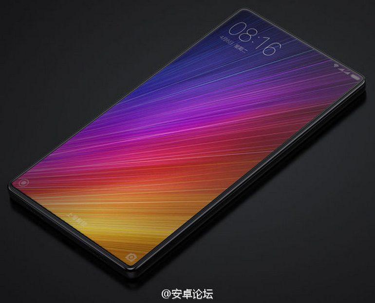 Новые изображения смартфона Xiaomi Mi Note 2 указывают на поистине безрамочный дизайн