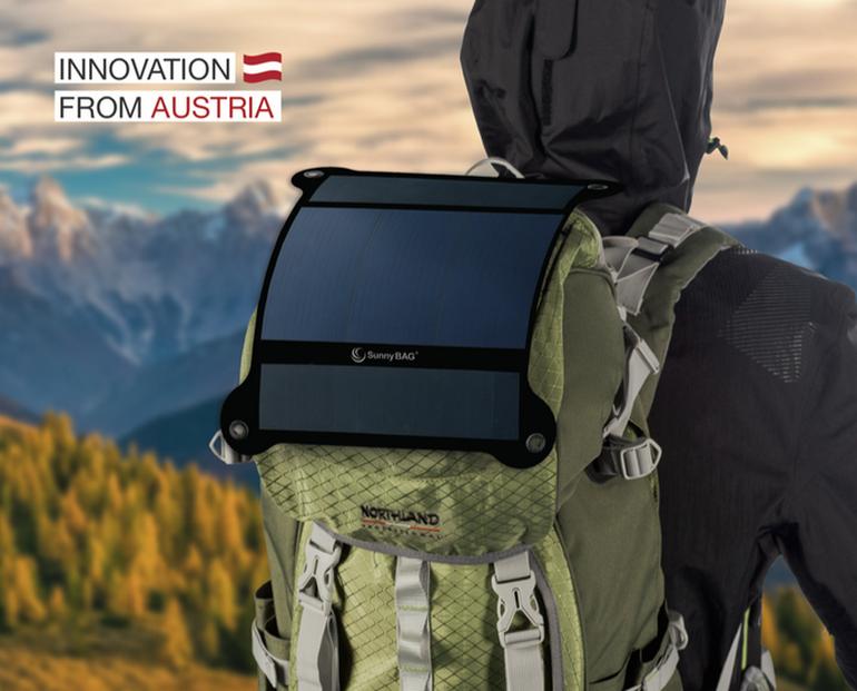 SunnyBAG LEAF+ — очередная самая прочная и легкая солнечная батарея в мире