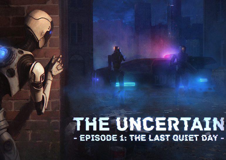 The Uncertain: постапокалиптическая адвенчура из жизни роботов