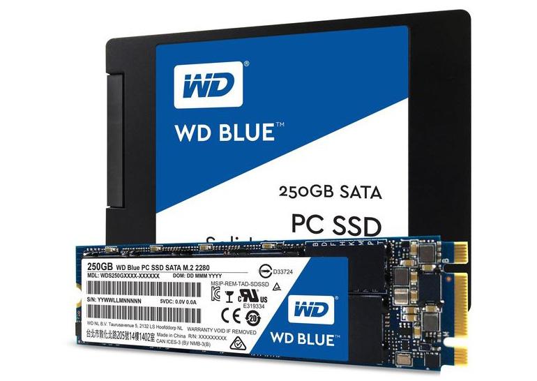 Western Digital представила твердотельные накопителиWD Green иWD Blue