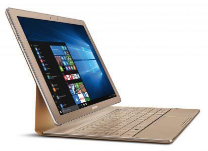Samsung обновила Wintel-планшет Galaxy TabPro S, удвоив объем ОЗУ и перекрасив корпус в золотой цвет