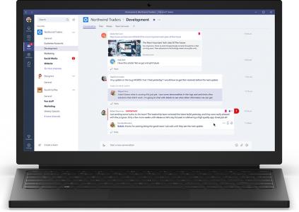 Microsoft запустила сервис для коллективной работы Teams, являющийся частью Office 365