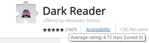 Dark Reader: лучшее расширение для ночного режима в Chrome стало еще