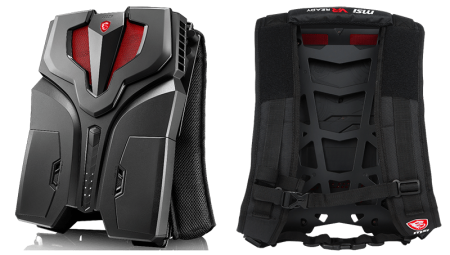Ранцевый ПК MSI VR One поступил в продажу по цене от $2000