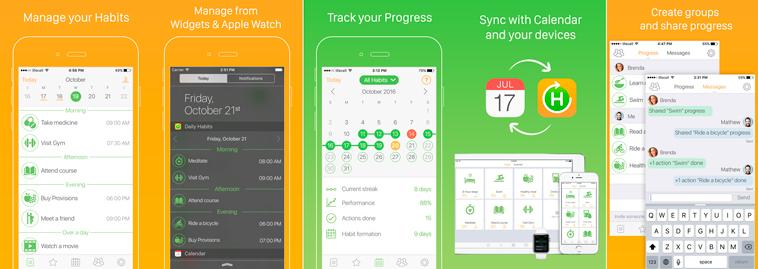 Українська компанія створила iOS-додаток Daily Habits для вироблення корисних звичок
