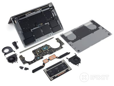 Старшая модель линейки новых ноутбуков Apple MacBook Pro тоже не подлежит ремонту