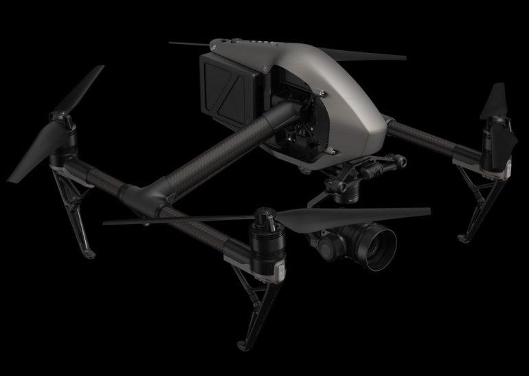 DJI представила два новых квадрокоптера Inspire 2 и Phantom 4 Pro