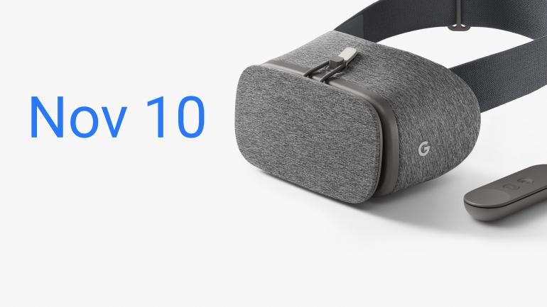 Гарнитура виртуальной реальности Google Daydream View поступит в продажу 10 ноября