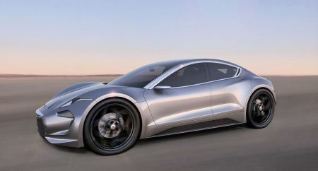 Хенрик Фискер наконец продемонстрировал полноценное фото нового электромобиля Fisker EMotion