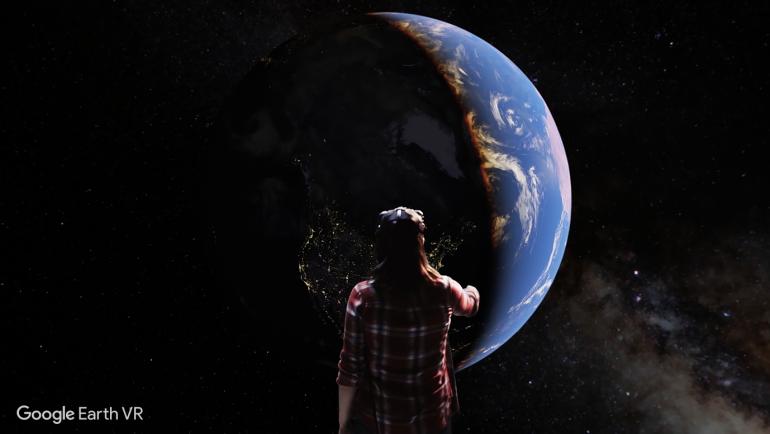 Google Earth VR: версия картографического сервиса для шлемов виртуальной реальности вышла на Steam [видео]