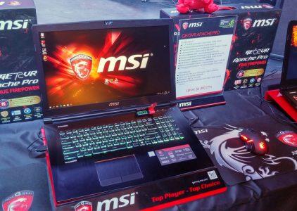 MSI представила в Украине игровые ноутбуки с видеокартами серии GeForce GTX 10