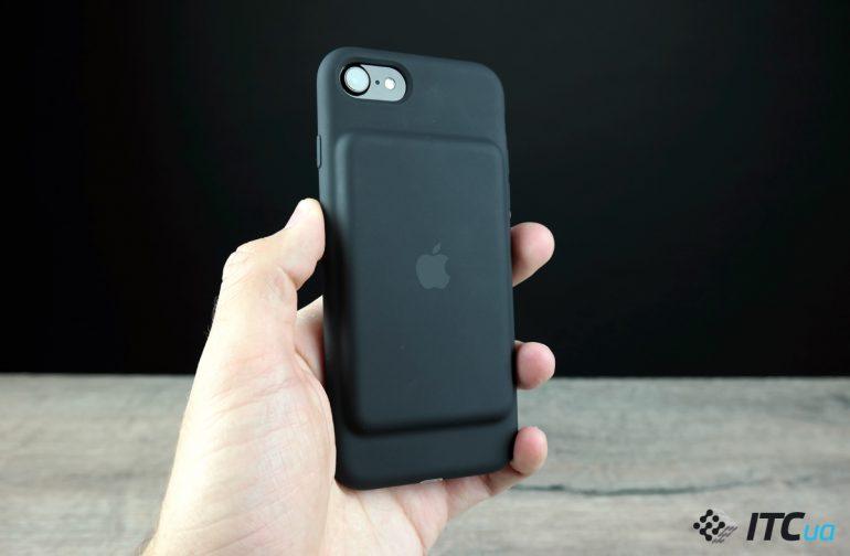 Экспресс-обзор чехла с аккумулятором iPhone 7 Smart Battery Case