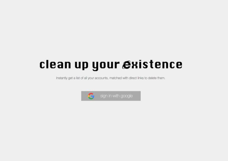 Deseat.me — легкий способ удалиться из интернета