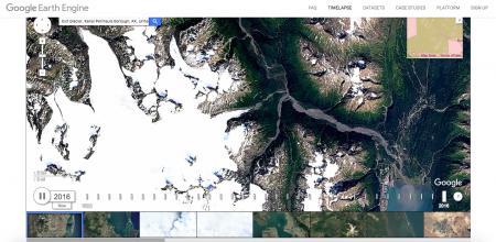Обновленный Timelapse сервиса Google Earth демонстрирует как менялась Земля в последние 30+ лет