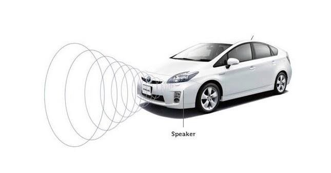 Электромобили игибриды вынудят производить больше звука при движении
