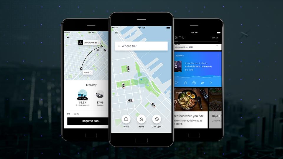 скачать приложение убер такси - фото 9