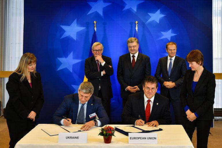 Украина и Евросоюз подписали новый Меморандум по стратегическому энергетическому партнерству