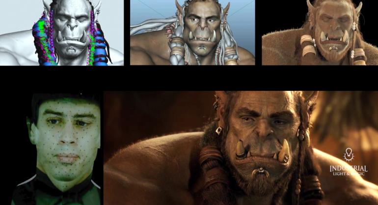 Как Industrial Light & Magic создавала спецэффекты для фильма «Варкрафт: Начало» / Warcraft [видео]